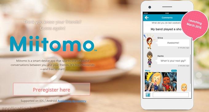 دانلود Miitomo 2.3.0 - جدیدترین نسخه اپلیکیشن میتومو برای اندروید