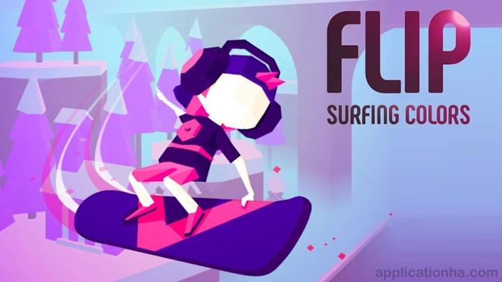دانلود Flip : Surfing Colors - بازی اسکیت سواری اندروید