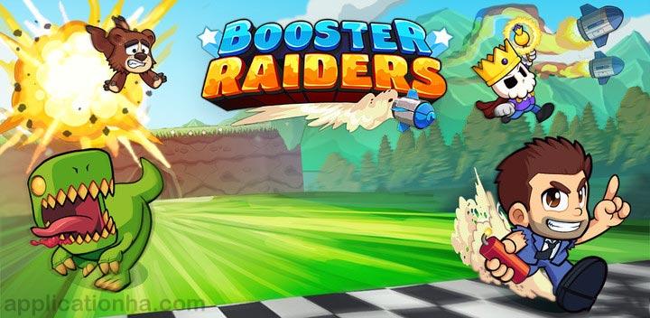 دانلود Booster Raiders - بازی یورش دونده برای اندروید