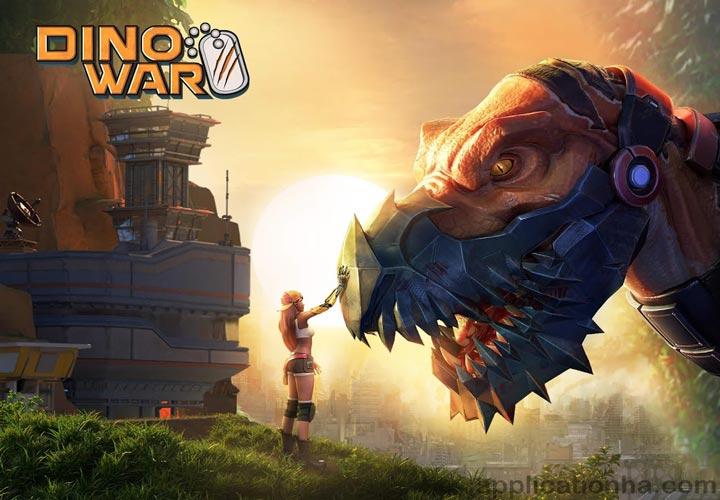 دانلود Dino War: Rise of Beasts - بازی نبرد دایناسورها برای اندروید