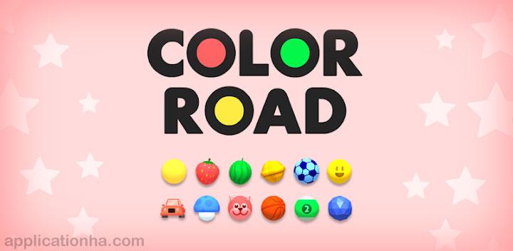 دانلود Color Road - جدیدترین نسخه بازی جاده رنگ برای اندروید