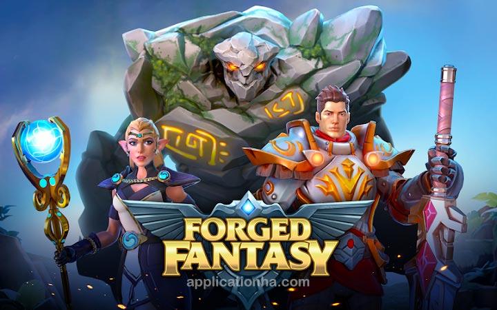 دانلود Forged Fantasy - بازی رویای جعلی برای اندروید
