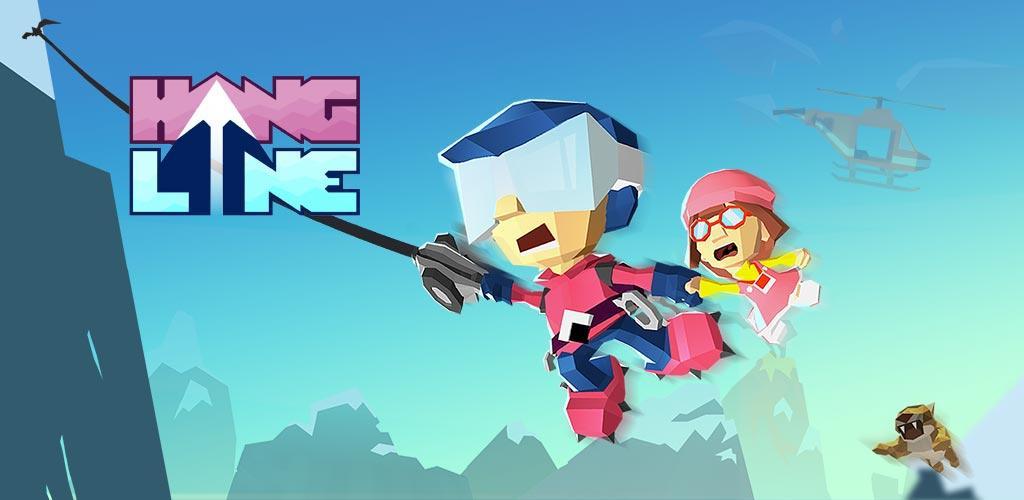 دانلود Hang Line: Mountain Climber - بازی کوه نوردی اندروید