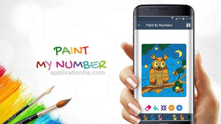 دانلود Paint By Number - اپلیکیشن رنگ آمیزی اندروید