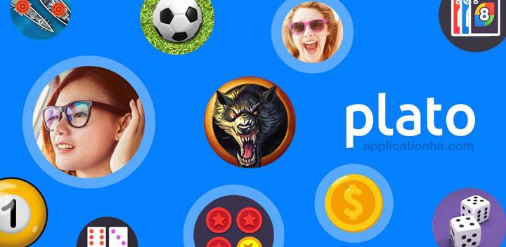 دانلود Plato - Meet People, Play Games & Chat - اپلیکیشن پلاتو اندروید