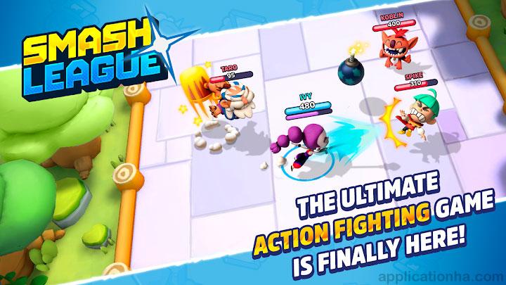 دانلود Smash League - بازی لیگ برخورد برای اندروید