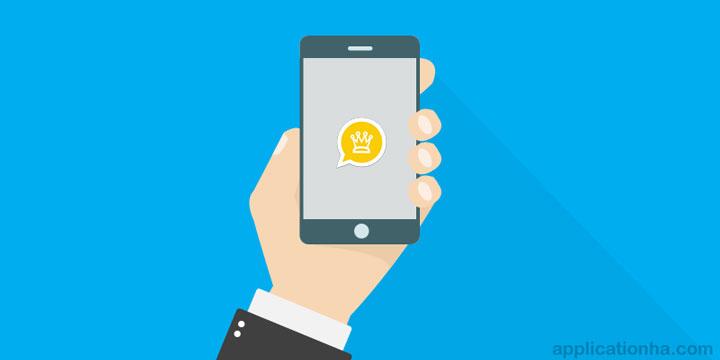 دانلود Whatsapp Plus Gold - اپلیکیشن واتس اپ پلاس طلایی اندروید