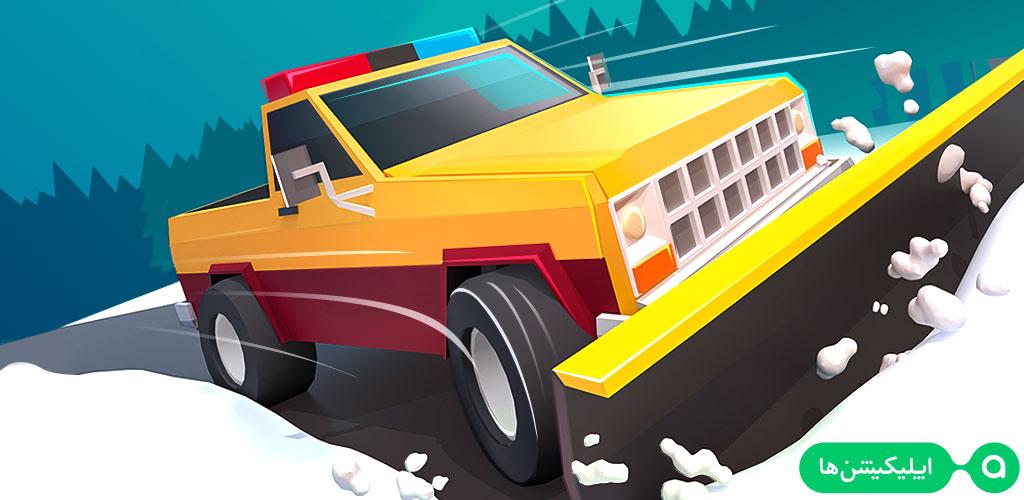 دانلود Clean Road - بازی برف روبی جاده ها برای اندروید