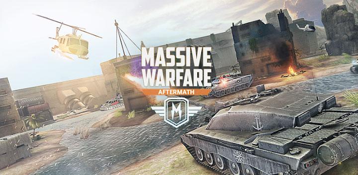 دانلود Massive Warfare: Aftermath - بازی نبرد عظیم اندروید