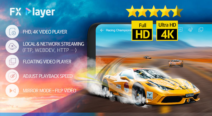 FX Player دانلود اپلیکیشن اندروید