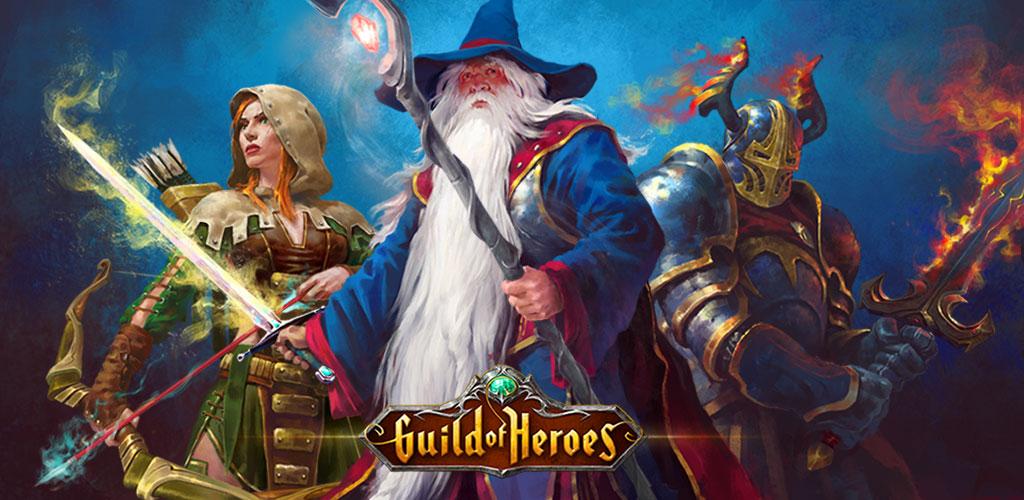 دانلود بازی اندروید Guild of Heroes - fantasy RPG