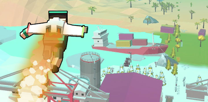 دانلود Jetpack Jump - بازی پرش با جت پک برای اندروید