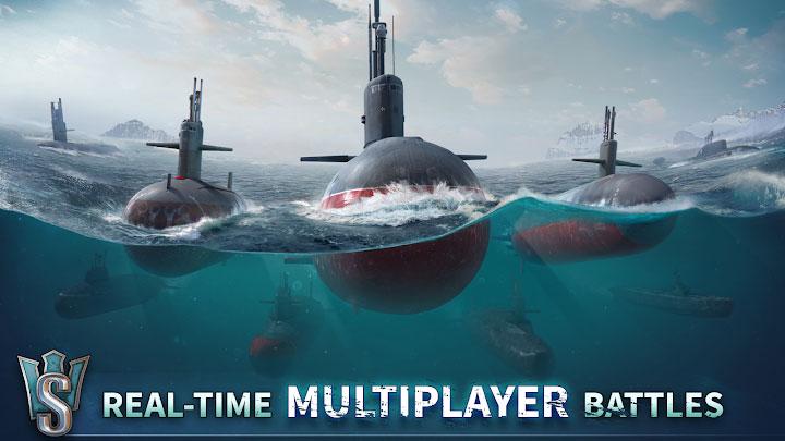 دانلود WORLD of SUBMARINES - بازی دنیای زیردریایی ها برای اندروید