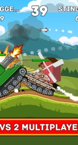 دانلود Hills of Steel – بازی تانکی تپه های فولادی برای اندروید