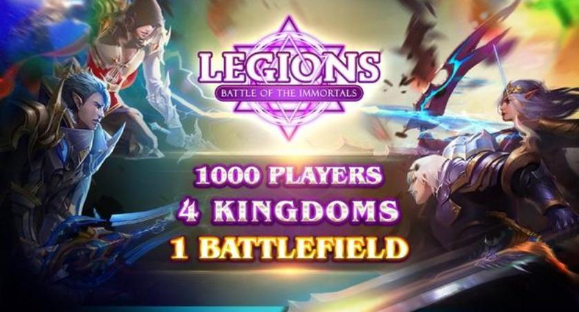 Legions - Battle of the Immortals