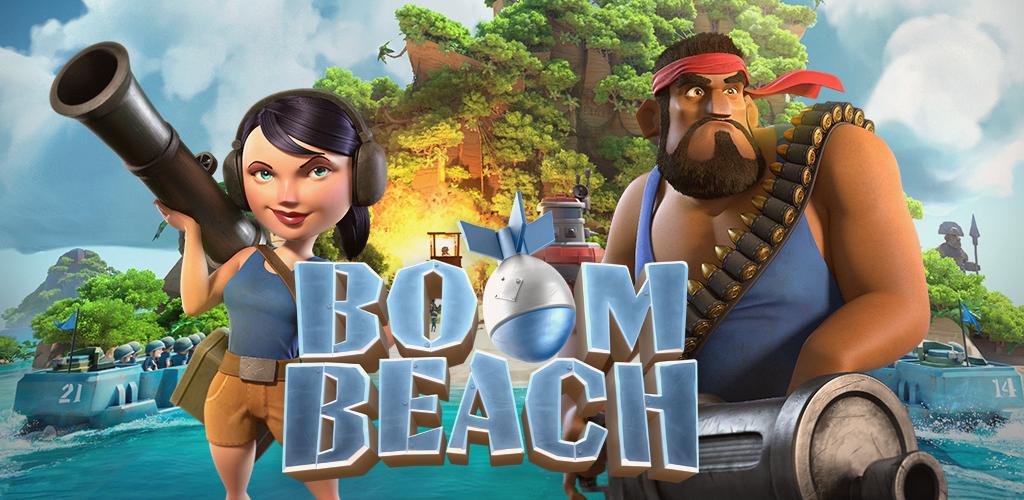 دانلود بوم بیچ Boom Beach - بازی ساحل بوم برای اندروید