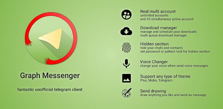 دانلود Graph Messenger - اپلیکیشن گراف مسنجر اندروید