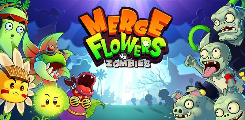 دانلود Merge Flowers vs. Zombies 2.9 - بازی گل ها علیه زامبی ها اندروید + مود