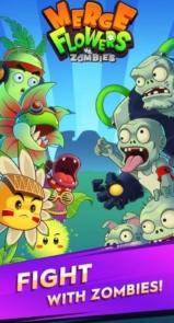 دانلود Merge Flowers vs. Zombies - بازی گل ها علیه زامبی ها برای اندروید
