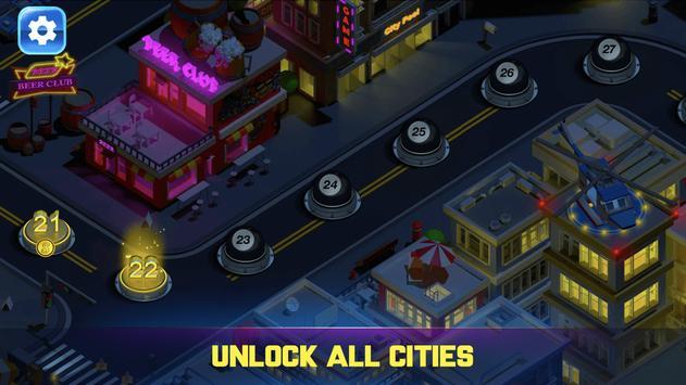 دانلود Pooking - Billiards City – بازی ورزشی شهر بیلیارد برای اندروید
