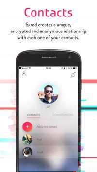 دانلود Skred Messenger – اپلیکیشن چت اسکرد مسنجر برای اندروید