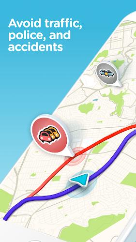 دانلود Waze - اپلیکیشن مسیریاب ویز برای اندروید