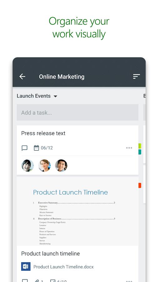 دانلود Microsoft Planner – اپلیکیشن مدیریت پروژه برای اندروید