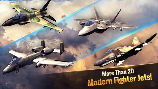 دانلود Ace Fighter: Modern Air Combat – بازی اکشن جنگنده آس برای اندروید