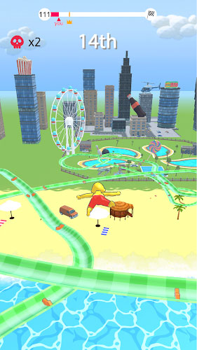 دانلود aquapark.io - بازی پارک آبی برای اندروید