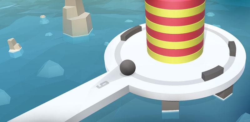 دانلود Fire Balls 3D - بازی سه بعدی توپ های آتشین برای اندروید