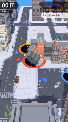 دانلود Hole.io - بازی آرکید گودال برای اندروید