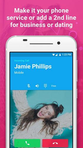 دانلود Nextplus Free SMS Text + Calls - اپلیکیشن نکست پلاس اندروید