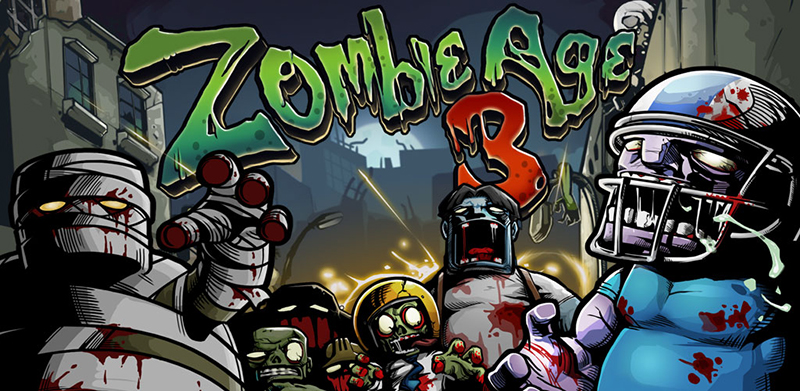 بازی اندرویدی Zombie Age 3