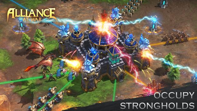 دانلود Alliance at war – بازی استراتژیک اتحاد در جنگ برای اندروید