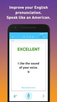 دانلود ELSA Speak – اپلیکیشن یادگیری تلفظ زبان انگلیسی السا برای اندروید