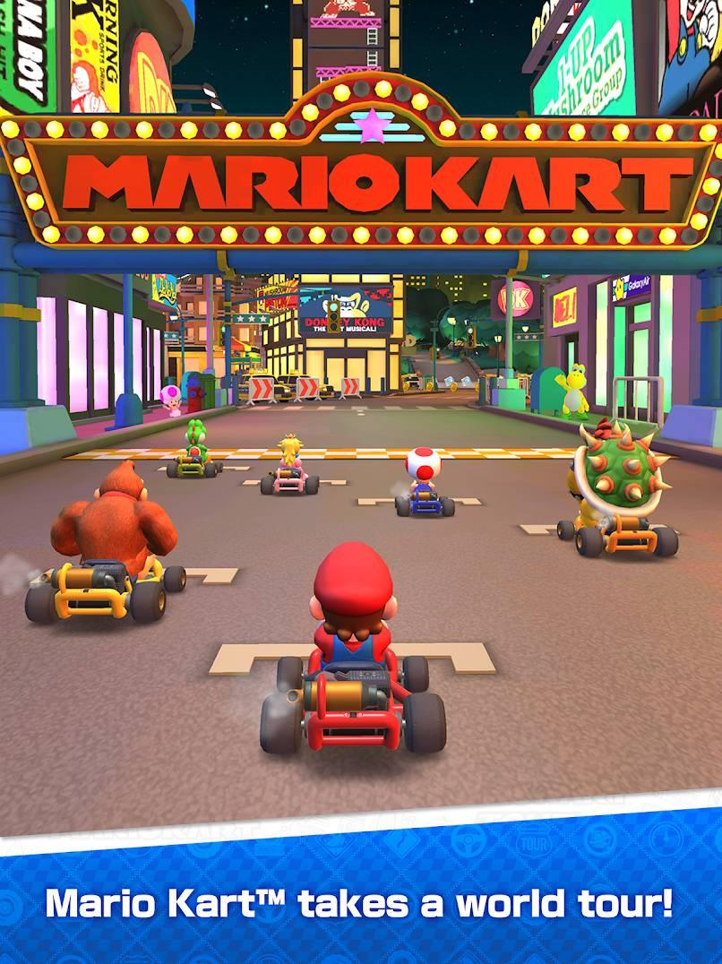 دانلود Mario Kart Tour – بازی تور ماریو کارت برای اندروید