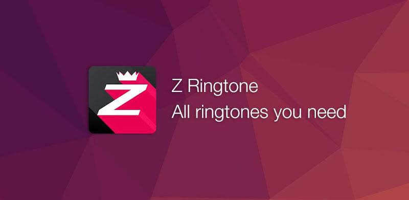 دانلود Z Ringtones PREMIUM 2019 - اپلیکیشن زد رینگتون اندروید
