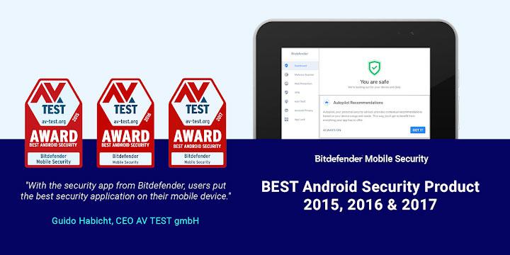 دانلود Bitdefender Mobile Security & Antivirus - آنتی ویروس بیت دیفندر اندروید