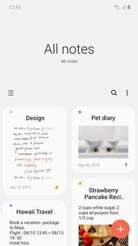 دانلود Samsung Notes – اپلیکیشن دفترچه یادداشت سامسونگ برای اندروید