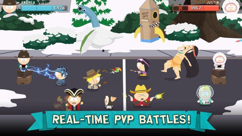 دانلود South Park: Phone Destroyer™ – بازی کارتی پارک جنوبی برای اندروید