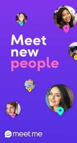 دانلود MeetMe – اپلیکیشن پیام رسان میت می برای اندروید
