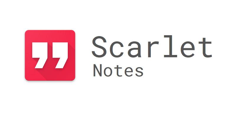دانلود Scarlet Notes Pro - اپلیکیشن یادداشت برداری اسکارلت نوت اندروید