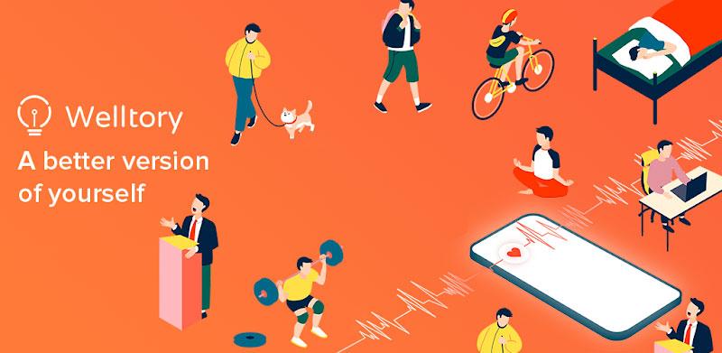دانلود Welltory – اپلیکیشن کنترل سلامت بدن ولتوری برای اندروید