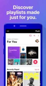 برنامه اندروید Apple Music