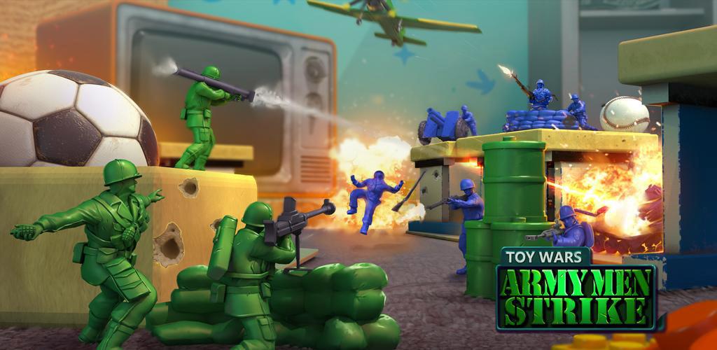 دانلود Army Men Strike 3.26.1 - بازی حمله ارتش اسباب بازی برای اندروید