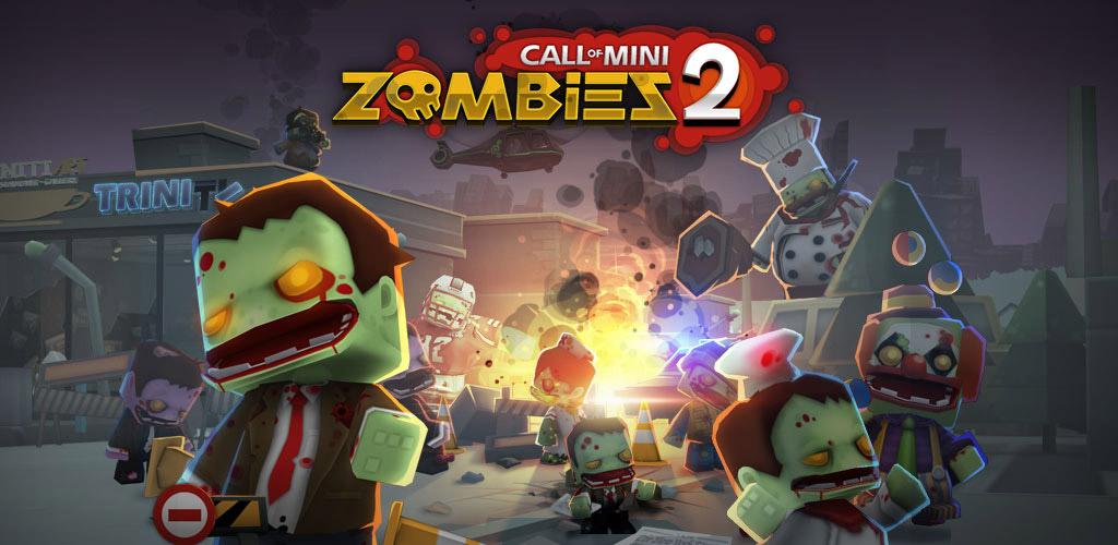 دانلود Call of Mini Zombies 2 2.2.2 - بازی ندای کوتاه برای اندروید + مود 