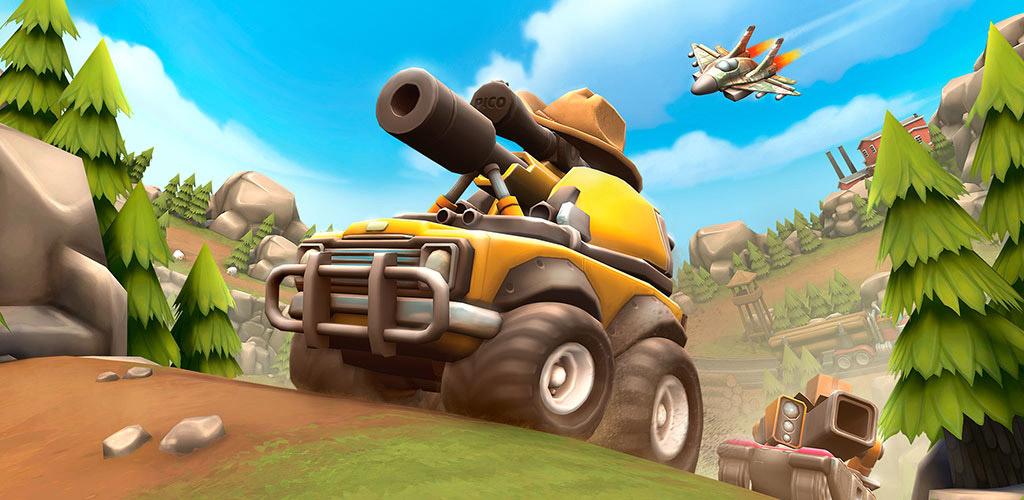 دانلود Pico Tanks 30.4 - بازی اکشن تانک های پیکو برای اندروید