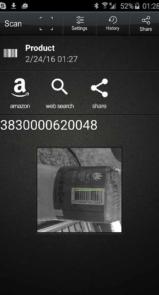 برنامه اندروید QR Code Reader PRO