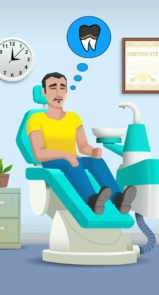 بازی اندروید Dentist Bling
