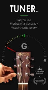 برنامه اندروید Guitar Tuner Pro